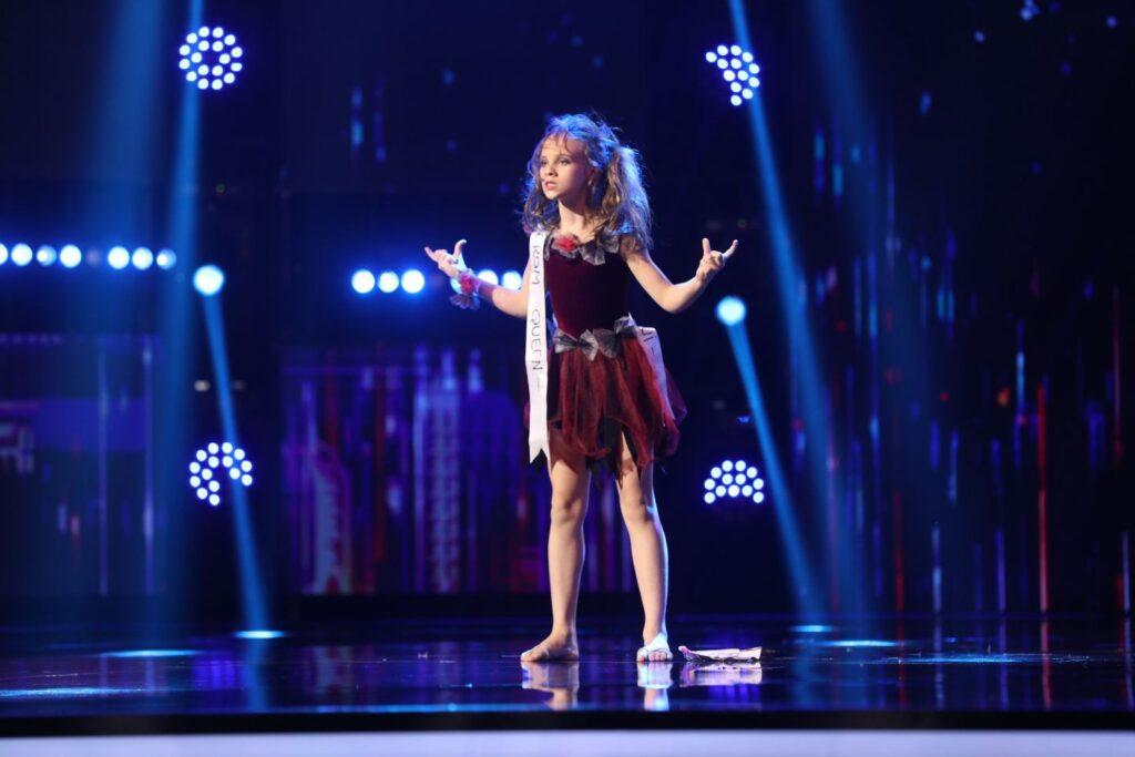 Elena Huncanu - Romanii au talent 2021